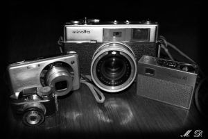 Old Cameras by Mary-SD