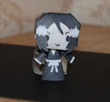 Rukia - Chibi papercraft by HoneyBee249
