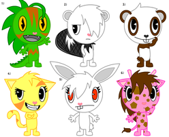 Adoptables 10 :CLOSED: by Jeffery-Cat