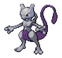 150 - Mewtwo by Devi-Tiger