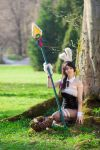 Battle Bunny Nidalee: 'The untamed know no fear' by ToukoCosplay