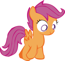 Scootaloo vector by Evil-Spike