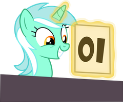 Lyra judge - MLP S4E20 Leap of Faith by Vulthuryol00
