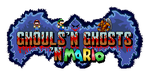 Ghouls'n Ghost'n Mario logo by AirWolf-Animatronic