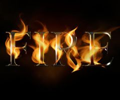 Create a Fire Text Effect in Photoshop by Designslots