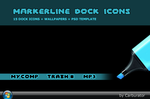 MarkerLine dock icons by Carburator