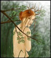 Deer woman by be-a-sin