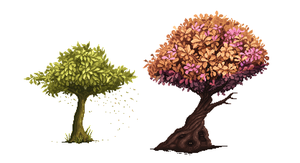 Trees by zoom-2x