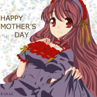 Anime Cg Drawing Mother's Day Special by kayanimeproductions