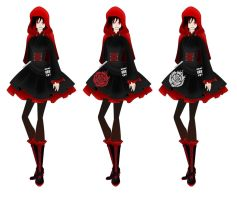 Darling Army Pinafore entry 2#: Ruby Rose by chi171812