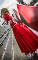 Saber Nero Cosplay (London MCM Expo 2013 October) by SwordOfBurningLight