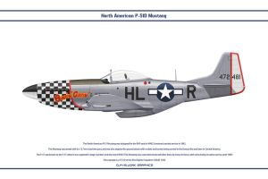 Mustang USAAF 83rd FS 1 by WS-Clave