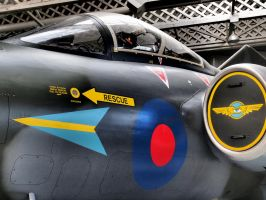 Blackburn Buccaner Duxford by davepphotographer