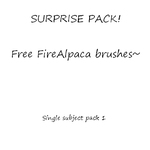Mystery/Surprise Brush pack -Free trial- by Mo-fox