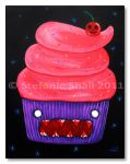 Red Velvet Cupcake by EsperAqua