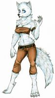 Commission: Valinna Whiteheart by dead-kittens3