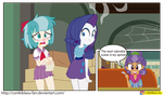 MLP -Equestria Girls - the saddle row rewiew by CoNiKiBlaSu-fan