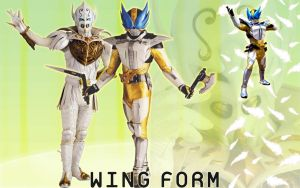 Kamen Rider Den-O Wing Form by blakehunter