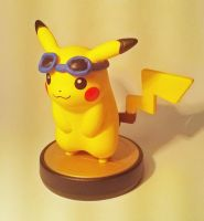 SOLD - Customized Pikachu Amiibo! by StickFreeks
