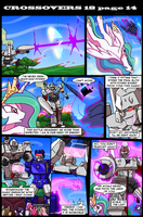 Transformers vs My Little Pony page 14 by kitfox-crimson
