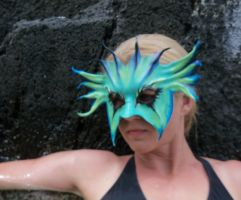 SeaMonster Leather Mask, Francis Bay by teonova