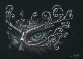 Welcome to the Masquerade! (1) by AndreaWidgetArt