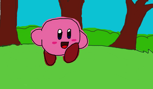Kirby's on another adventure by LuckyGreen7