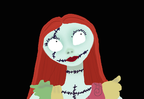 Sally, The Nightmare Before Christmas by IceBack14