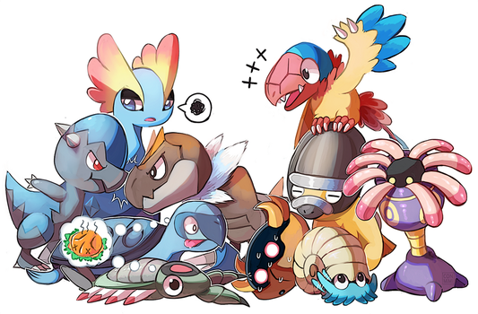 Fossil Friends by CONMiMi