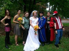 RoyEd Wedding Party 2 by worstdrawereva