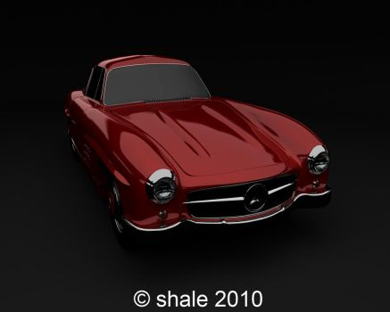 1954 Mercedes 300SL Gullwing 4 by shale1