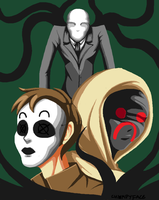 marble hornets by chompyface