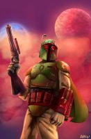 Boba Fett by charco