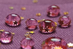 Plum Crystals I by ellir-pa