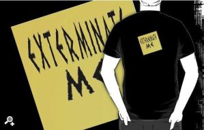 Exterminate Me T-shirt by Thowell3