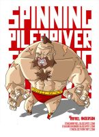 Street Fighter Tribute-Zangief by Itinen
