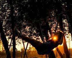Sunset Swing by ricmerry