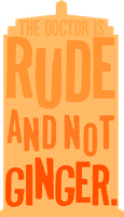 rude and not ginger by morwenvaidt