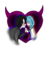 A Demonic Love by FrozenLightsSketches