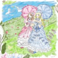 Victorian Ladies by Miss-Licorice