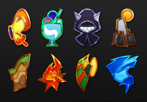 Estelia State Gym Badges by DaybreakM