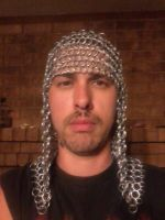 4 in 1 chainmail coif WIP by Mokavu