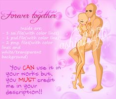'Forever together' Free Base Pack by ashia2256