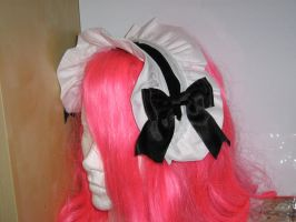 lolita head band by lostrunaway