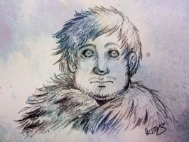 Samwell Tarly-sketch by Wiela