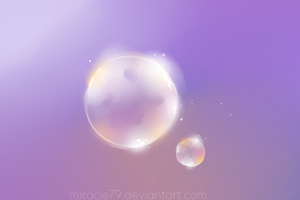 bubble lights by Miracle79