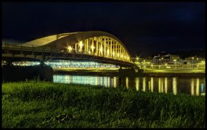 Dr. Edvard Benes bridge by Pildik