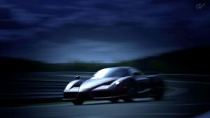 The Ferrari Enzo is the storm by MercilessOne