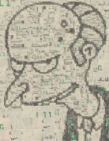 Mr Burns Mosaic by Cornejo-Sanchez