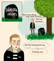 Sherlock BBC - Get up. by Ramble-17